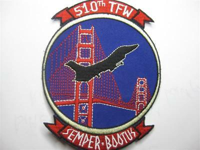 U.s. Air Force 510Th Tactical Fighter Wing Aufnäher Patch Usaf