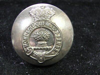 1911-45 1st MARQUESS of CREWE Robt. Crewe-Milnes LIVERY 27mm COAT BUTTON FIRMIN