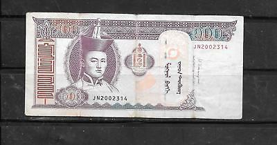 MONGOLIA #65c 2014 VG CIRC 100 TUGRIK CURRENCY BANKNOTE BILL NOTE PAPER MONEY