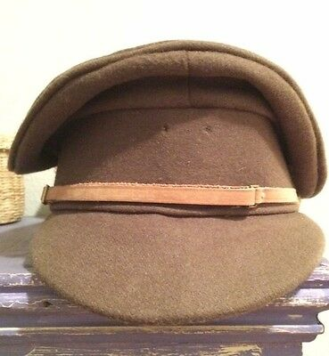 Ww1 British Reproduction Officer's Trench Cap Great Britain