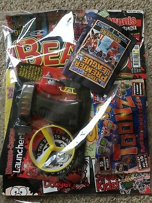 Beano Comic Magazine With Free Toy On Front Unused Original Menace Copter +