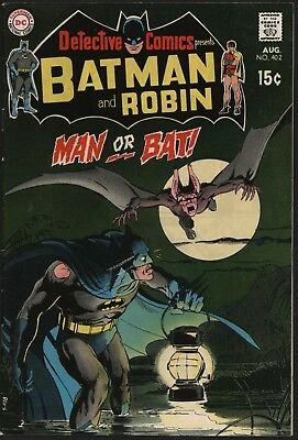 DETECTIVE COMICS #402  2nd EVER MAN-BAT! NEAL ADAMS COVER & ART. WHITE PAGES!