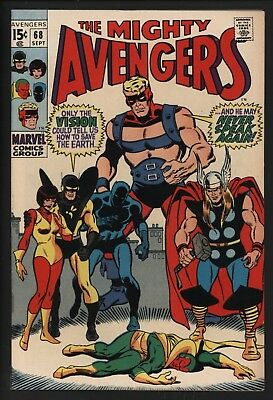 Avengers 68. The Death Of Ultron. Tight Glossy Cents. Pure White Pages