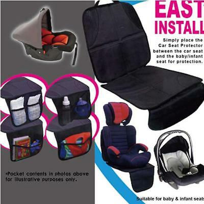 Baby Kids Universal Car Seat Protector Non-Slip Safety Mat Cushion Cover H