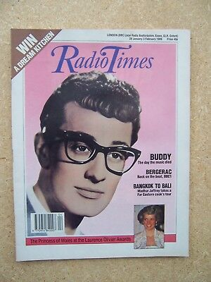 Radio Times/1989/Buddy Holly/Laurence Olivier/Bergerac/Louise Jameson/