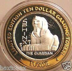 LUXOR 2000 Silver Strike  SPHINX THE GUARDIAN (frosted)