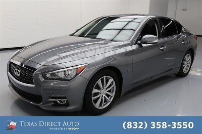 Infiniti Q50 4dr Sedan Texas Direct Auto 2015 4dr Sedan Used 3.7L V6 24V Automatic RWD Sedan Premium