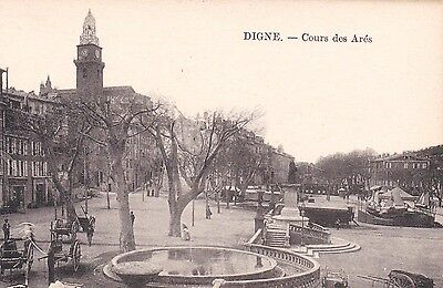 Dep 04 Cpa  Digne   Cours Des Ares  Animee   958