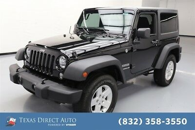 Jeep Wrangler Sport Texas Direct Auto 2015 Sport Used 3.6L V6 24V Automatic 4WD SUV