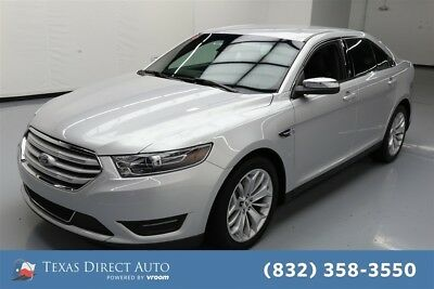 Ford Taurus Limited Texas Direct Auto 2017 Limited Used 3.5L V6 24V Automatic FWD Sedan