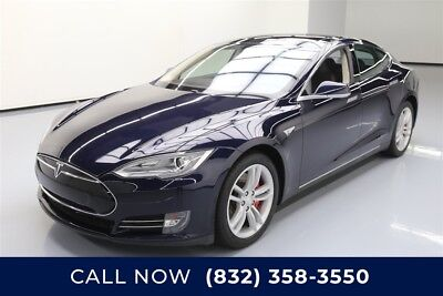 Tesla Model S P85 4dr Liftback Texas Direct Auto 2014 P85 4dr Liftback Used Automatic RWD
