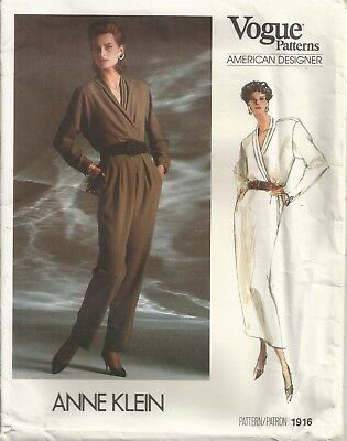 Vogue 1916 Misses' Size 8-12 Blouse, Skirt, Pants Sewing Pattern Vintage