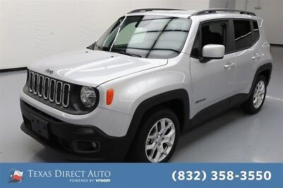 Jeep Renegade Latitude Texas Direct Auto 2018 Latitude Used 2.4L I4 16V Automatic FWD SUV Premium
