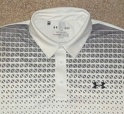 Mens Under Armour Heatgear Loose Fit Polo Golf Shirt Size Large