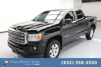 GMC Canyon 2WD SLE Texas Direct Auto 2015 2WD SLE Used 3.6L V6 24V Automatic RWD Pickup Truck