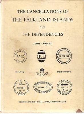 Book THE CANCELLATIONS OF FALKLAND ISLANDS & DEPENDENCIES by James Andrews