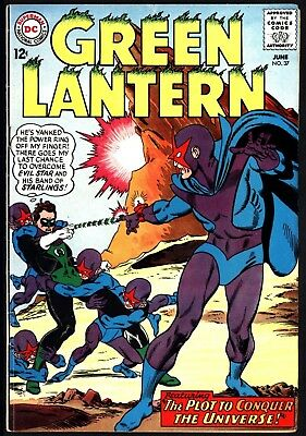 Green Lantern #37 Jun 1965 Classic Gil Kane Artwork Bright Glossy Cents Copy