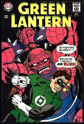 Green Lantern #56 Glossy Tight Cents Classic Gil Kane Art Great Page Quality