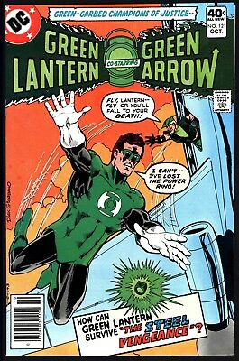 Green Lantern #121 With Green Arrow Vf/nm 9.0 With White Pages Great Value