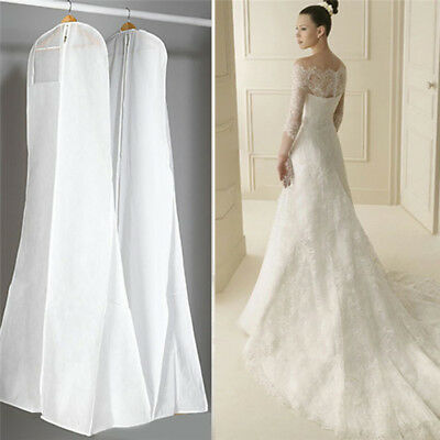 Bridal Gown Clothes Protector Case Wedding Dress Cover Dustproof Storage Bag