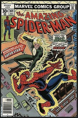 Amazing Spider-Man #168 V. Nice Nm 9.4 Copy With White Pages