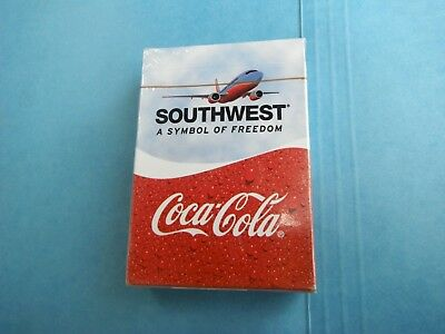Southwest Airlines Coca Cola playing cards