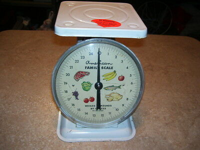 Antique Vintage Kitchen American Family Scale Produce Store