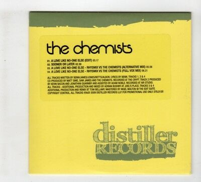 (IH348) The Chemists, A Love Like No-One Else - 2009 DJ CD