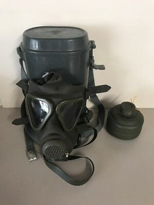Drager German Military Gas Mask Filter & Canister - NEW