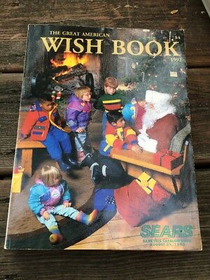 Christmas Catalog 1992 Sears Wish Book