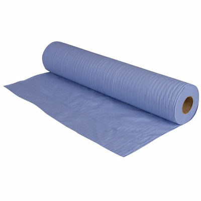 """1 Blue Hygiene Couch Rolls 20"""" 2ply 500mm x 40m Large Hygiene Roll Doctors Pack"""