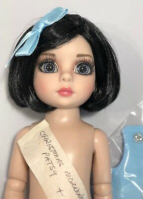 """Customized Tonner 10"""" Doll CHRISTMAS MORNING PATSY - New Articulated Body - Nude"""