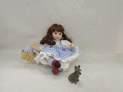 Marie Osmond Wizard of Oz baby Dorothy Doll Hand Numbered W/ COA