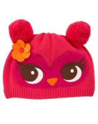 NWT Girls Gymboree Fall For Autumn Owl Hat Size 5-7