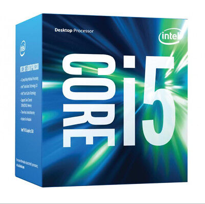 Intel Quad Core i5 Processor - 2.70GHz up to 3.30GHz LGA 1151 with 6MB Cache