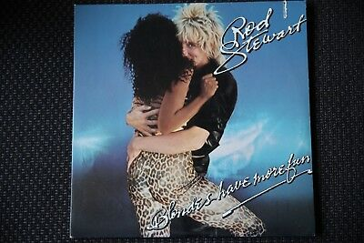 Rod Stewart - Blondes have more fun - LP neuwertig Album - or do they?
