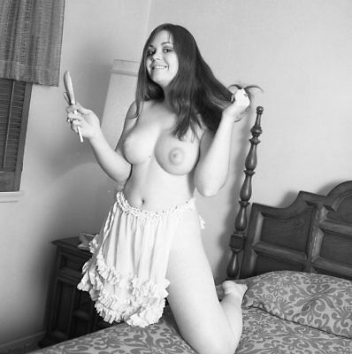 1960s Ron Vogel Negative, busty nude pin-up girl Diane Greer, t207333