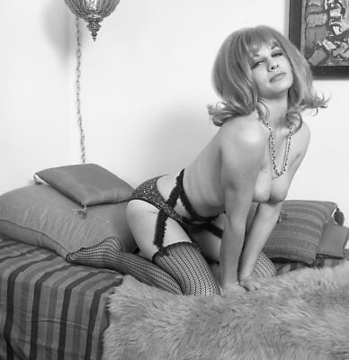 1960s Fred Enke Negative, stunning nude pin-up girl Marcia Dean, t207909