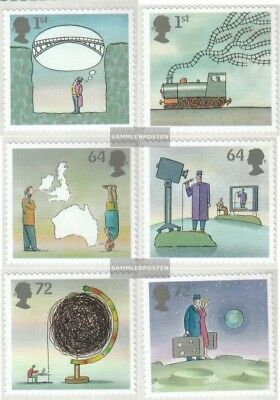 United Kingdom 2502-2507 mint never hinged mnh 2007 Inventions