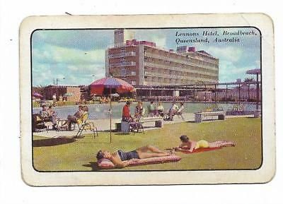 The Gold Coast-As It Was X 1 Only Single Vintage Playing/swapcard