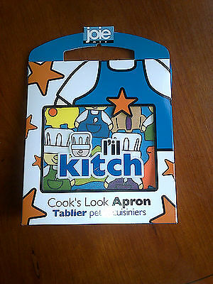 L'il Kitch Blue Childrens Apron New Christmas Gift