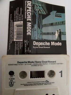 Depeche Mode - Some Great Reward - MC - Musikkassette - Tape - Cassette
