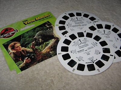 View-Master: The Lost World - Jurassic Park, 3 Scheiben, 1997, 1,-