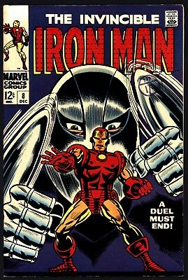Iron Man 8. Very Tight Structure, Ultra Glossy Cover