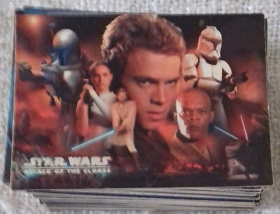 STAR WARS ATTACK OF THE CLONES - Trading Card - 1-100 manca figurina n° 6 -Topps