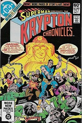 Krypton Chronicles No.2 / 1981 E. Nelson Bridwell & Curt Swan