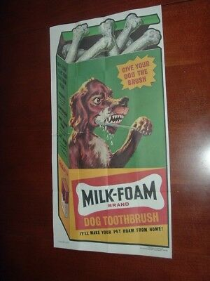 1973 1974 Topps Gum Co Wacky Packages Poster #10 Milk-Foam