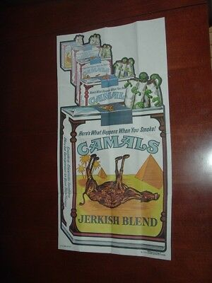 1973 1974 Topps Gum Co Wacky Packages Poster #7 Camals Jerkish Blend