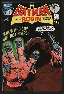 Batman #231 Very Glossy Cents Copy With Great White Pages From Mar 1971