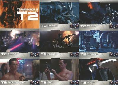 Terminator 2 Judgment Day Full 72 Card Base Set + 9 Card Chase Set - Unstoppable